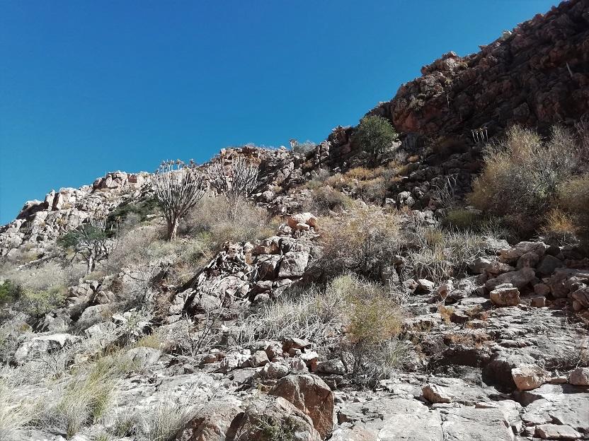 Wandern Namibia