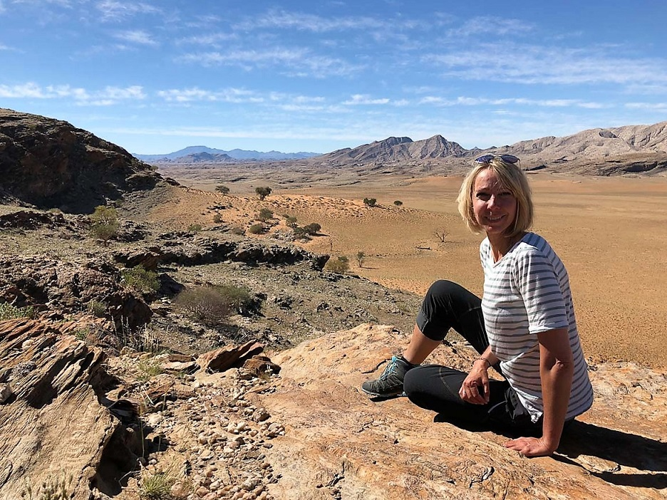 Katja von WellSpaPortal in Namibia