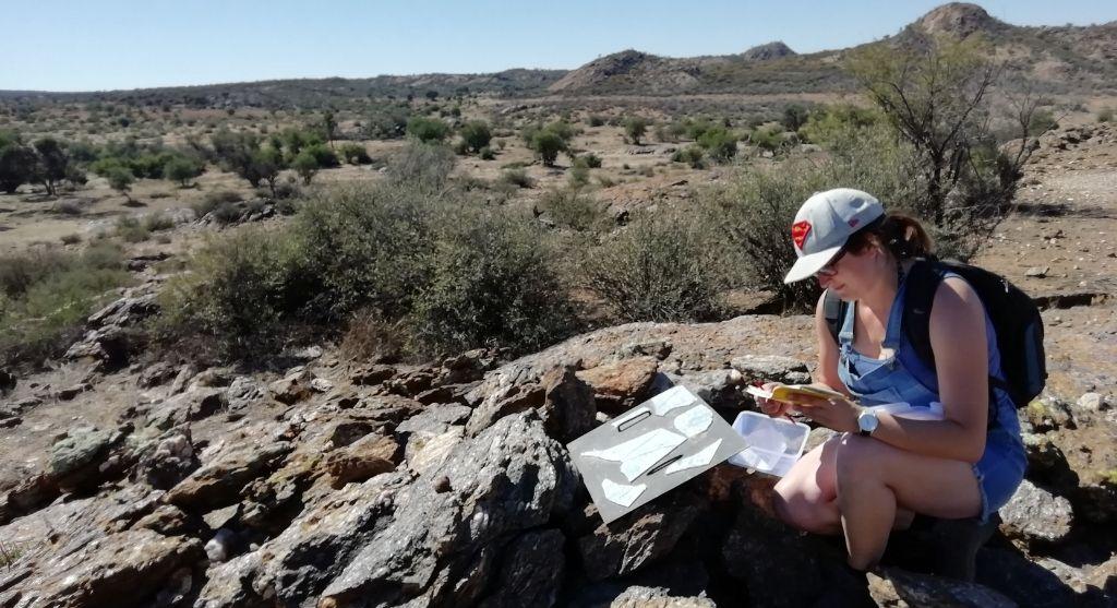 Geocaching Namibia